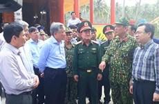 Otorgan en Vietnam regalos a isleños y soldados en ocasión del Año Nuevo Lunar