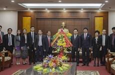 Refuerzan cooperación entre provincias vietnamita y laosiana