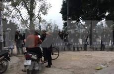 Procesa policía de Hanoi caso de disturbio en comuna suburbana de Dong Tam