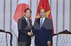 Premier de Vietnam aboga por intensificar lazos económicos y culturales con Japón