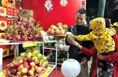 Inauguran en Hanoi feria de mercancías y alimentos en ocasión de Tet