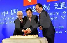 Rememoran en Beijing aniversario 70 de relaciones diplomáticas Vietnam-China