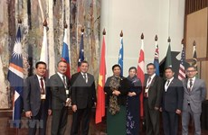 Participa vicepresidenta de Asamblea Nacional de Vietnam en APPF- 28