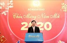 Vicepremier vietnamita destaca aporte de prensa a materialización de política exterior