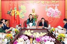 Presidenta del Parlamento vietnamita orienta desarrollo socioeconómico de Dak Lak