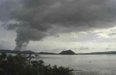 Filipinas advierte de posible explosión de lava por semanas del volcán Taal