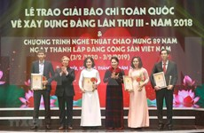Destacará Vietnam trabajos periodísticos sobre construcción partidista