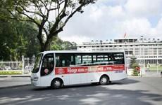 Ofrecen recorrido turístico en autobús por Ciudad Ho Chi Minh
