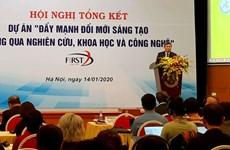 Destacan contribución de la innovación científico-tecnológica al desarrollo de Vietnam