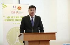 Comparten Vietnam y Francia experiencias en protección ambiental
