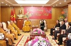 Destaca dirigente vietnamita aportes de la Sangha Budista al progreso nacional