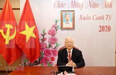 Máximos dirigentes de Vietnam y de China sostienen llamada telefónica