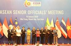 Altos Funcionarios de la ASEAN revisan preparativos para Reunión de Cancilleres