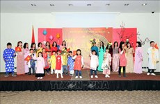 Celebran vietnamitas en ultramar fiestas del Año Nuevo Lunar