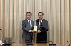 Aspira Ciudad Ho Chi Minh a impulsar cooperación con urbe japonesa