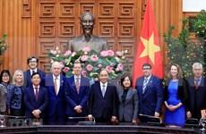 Recibe premier de Vietnam a dirigentes de escuela Harvard Kennedy
