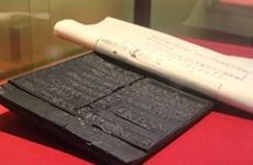 Efectúan en provincia vietnamita exposición de planchas xilográficas de la dinastía Nguyen