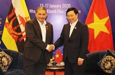 Vietnam y Brunei potencian nexos de asociación integral