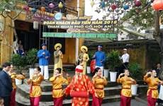 Ciudad vietnamita de Hoi An celebrará Año Nuevo Lunar con amplias actividades