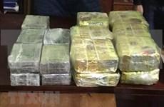 Policía de provincia vietnamita de Nghe An confisca gran cantidad de drogas