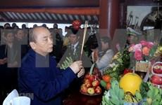 Dirigentes vietnamitas rinden tributo al Presidente Ho Chi Minh