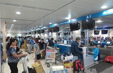 Aeropuerto internacional Tan Son Nhat entra a temporada alta del Tet