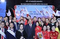 Premier de Vietnam resalta aportes a los pobres