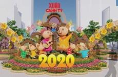Inauguran en Ciudad Ho Chi Minh Festival de Flores en ocasión del Año