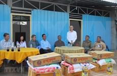 Entregan casas nuevas a familias vietnamitas afectadas por incendio en Camboya