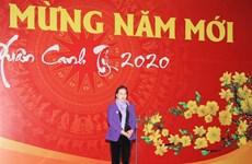Felicita máxima legisladora de Vietnam al cuerpo parlamentario en ocasión del Tet