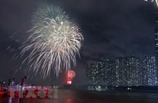 Efectuarán en ciudad Ho Chi Minh espectáculos de fuegos artificiales por el Tet 2020