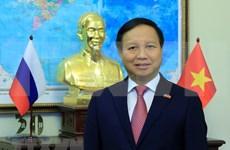 Efectúan mesa redonda sobre 70 años de cooperación entre Rusia y Vietnam