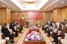 Resaltan aportes de comunidad católica al desarrollo de Vietnam