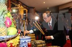 Rinden en Ciudad Ho Chi Minh homenaje a los primeros monarcas vietnamitas