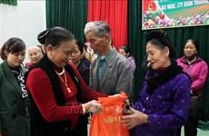Entregan regalos del Tet a desfavorecidos en provincia vietnamita de Quang Tri