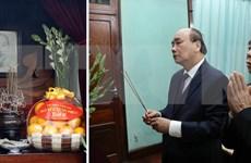 Recuerdan al Presidente Ho Chi Minh en ocasión del Tet