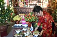 Ofrendas para ancestros en la cultura vietnamita
