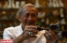 Anciano vietnamita y su pasión por coleccionar antiguas campanas