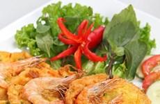 Banh tom Ho Tay muestra la quintaesencia culinaria de Hanoi
