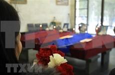 Celebran funeral para vietnamitas fallecidos en incendio de invernadero en Rusia