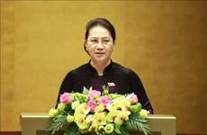 Resalta máxima legisladora vietnamita papel del Parlamento en reforma institucional