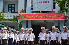 Celebran combatientes vietnamitas en Truong Sa el Tet tradicional
