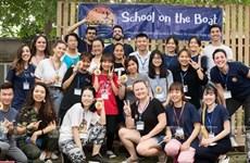 School on the Boat, escuela para niños desfavorecidos en Hanoi