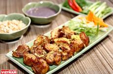 Cha Ca, típico plato de pescado en Hanoi