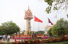 Inauguran en provincia camboyana monumento de amistad con Vietnam