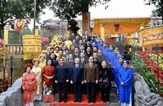 Dirigentes de Vietnam rinden tributo a ancestros de la nación