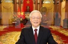 Felicitan dirigentes vietnamitas aniversario 70 de establecimiento de relaciones diplomáticas con Rusia