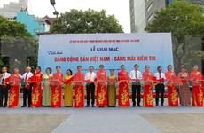 Exhibición fotográfica sobre fundación del Partido Comunista de Vietnam en Ciudad Ho Chi Minh