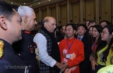 Participan jóvenes vietnamitas en intercambio internacional en India