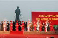 Inauguran en provincia vietnamita estatua de exsecrectario general del Partido Comunista
